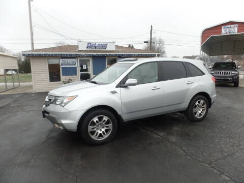 2008 Acura MDX for sale at DeLong Auto Group in Tipton IN