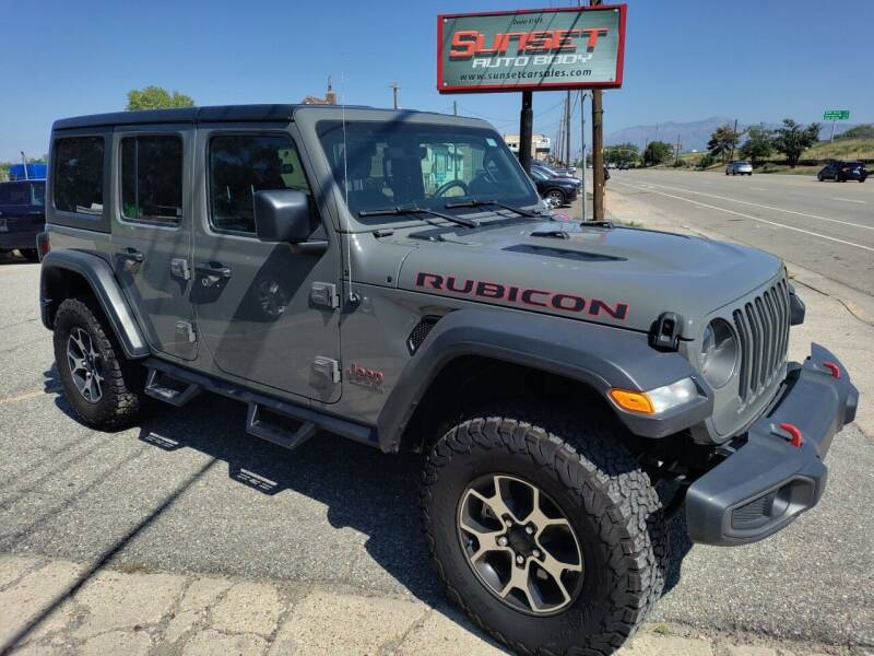 2020 Jeep Wrangler Unlimited for sale at Sunset Auto Body in Sunset UT