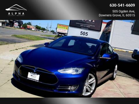 2015 Tesla Model S for sale at Alpha Luxury Motors in Downers Grove IL