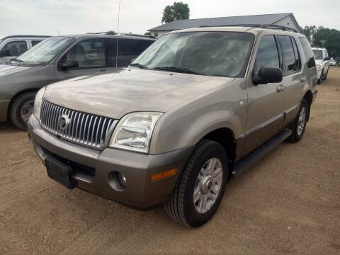 2004 Mercury Mountaineer for sale at RDJ Auto Sales in Kerkhoven MN