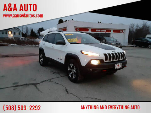 2014 Jeep Cherokee for sale at A&A AUTO in Fairhaven MA