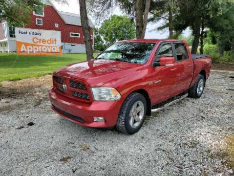 2010 Dodge Ram Pickup 1500 for sale at Caulfields Family Auto Sales in Bath PA