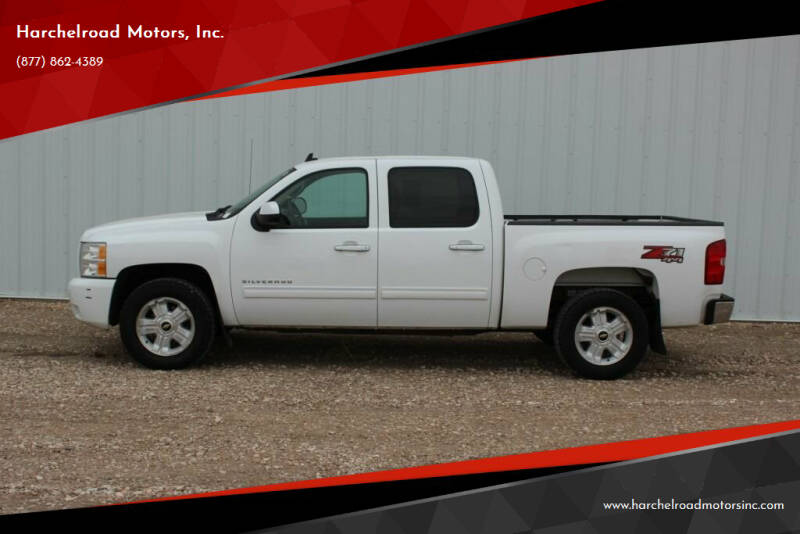 2011 Chevrolet Silverado 1500 for sale at Harchelroad Motors, Inc. in Wauneta NE