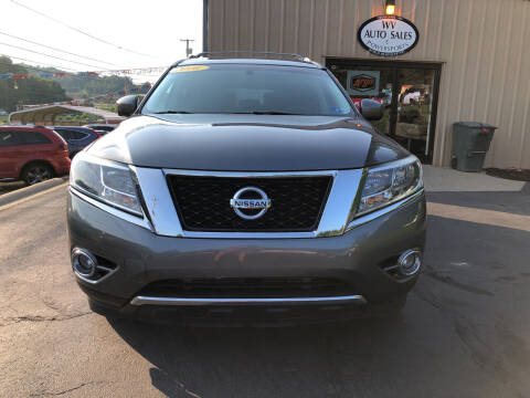 2016 Nissan Pathfinder for sale at W V Auto & Powersports Sales in Charleston WV