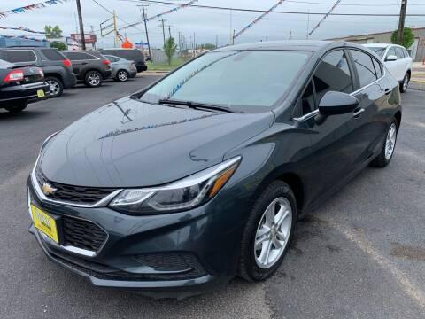 2017 Chevrolet Cruze for sale at Rock Motors LLC in Victoria TX