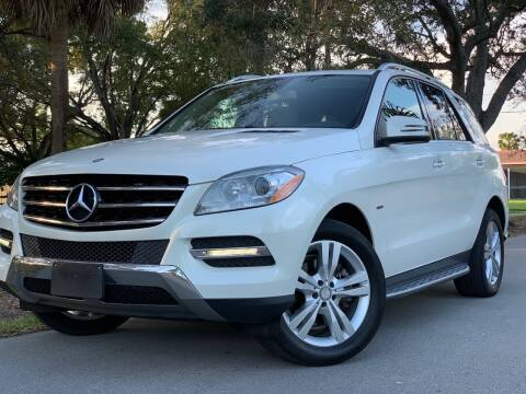 2012 Mercedes-Benz M-Class for sale at HIGH PERFORMANCE MOTORS in Hollywood FL