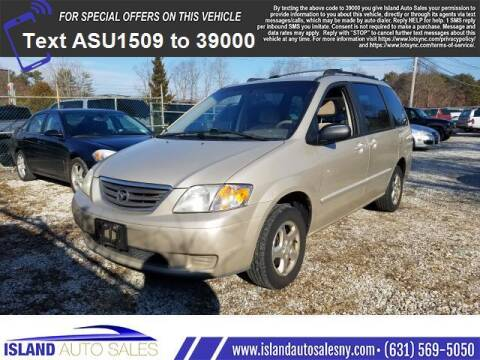 2001 Mazda MPV for sale at Island Auto Sales in E.Patchogue NY