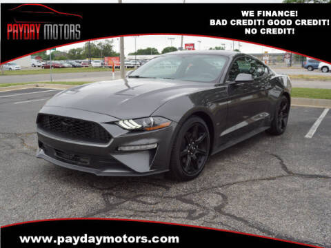 2020 Ford Mustang for sale at Payday Motors in Wichita KS