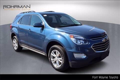 2017 Chevrolet Equinox for sale at BOB ROHRMAN FORT WAYNE TOYOTA in Fort Wayne IN