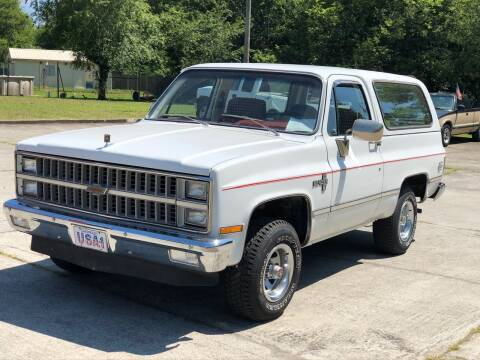 1981 Chevrolet Blazer for sale at Highway 41 South Motorplex in Springfield TN