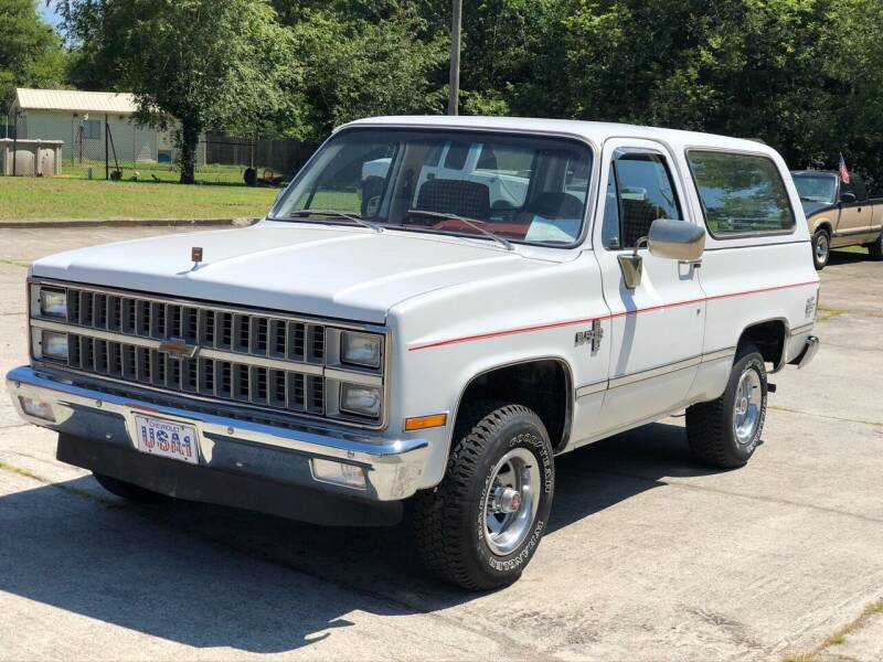 1981 Chevrolet Blazer for sale at Highway 41 South Motorplex in Springfield TN