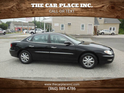 2005 Buick LaCrosse for sale at THE CAR PLACE INC. in Somersville CT