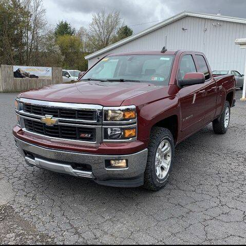 2015 Chevrolet Silverado 1500 for sale at Sensible Sales & Leasing in Fredonia NY