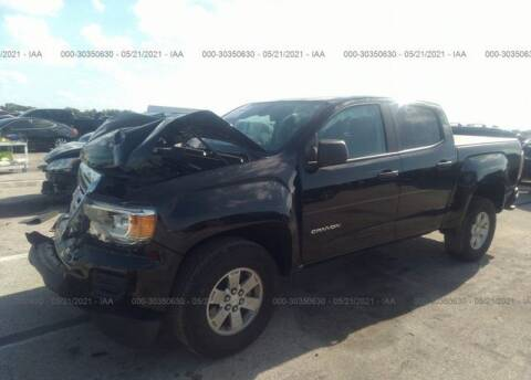 2020 GMC Canyon for sale at ELITE MOTOR CARS OF MIAMI in Miami FL