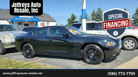 2013 Dodge Charger for sale at Jeffreys Auto Resale, Inc in Clinton Township MI