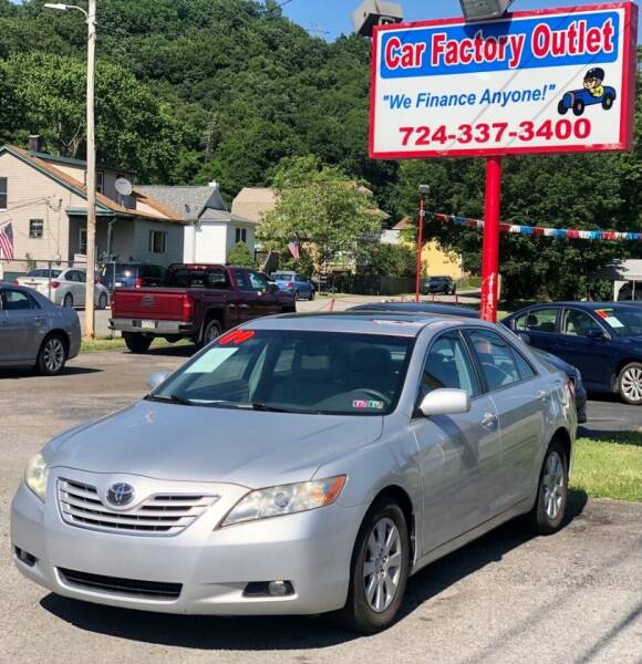 2009 Toyota Camry for sale at Car Factory Outlet in Lower Burrell PA