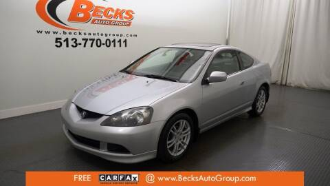 2005 Acura RSX for sale at Becks Auto Group in Mason OH