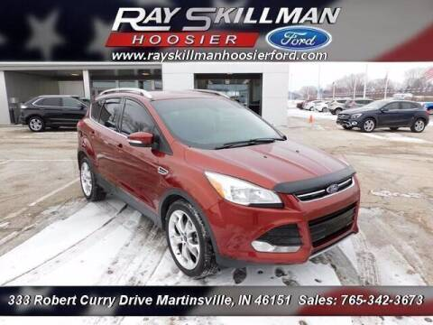 2015 Ford Escape for sale at Ray Skillman Hoosier Ford in Martinsville IN