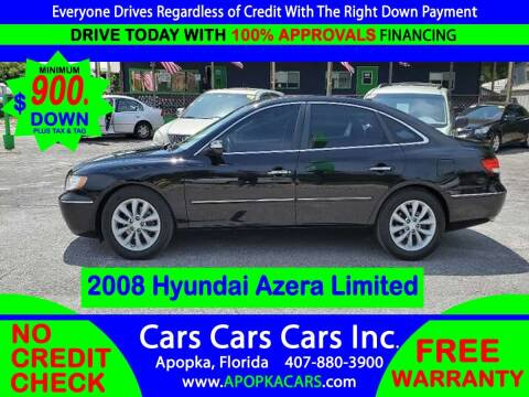 2008 Hyundai Azera for sale at CARS CARS CARS INC in Apopka FL