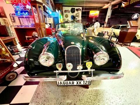 1954 Jaguar XK 120 for sale at Berliner Classic Motorcars Inc in Dania Beach FL