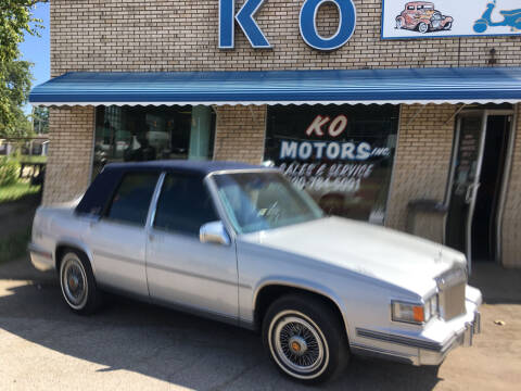 1986 Cadillac DeVille for sale at K O Motors in Akron OH
