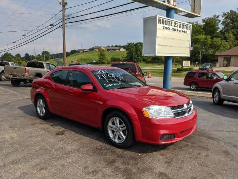 2011 Dodge Avenger for sale at Route 22 Autos in Zanesville OH