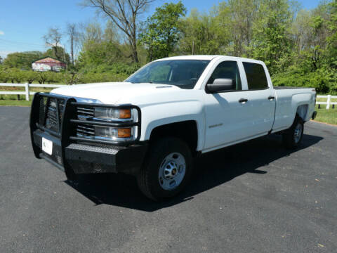 2016 Chevrolet Silverado 2500HD for sale at Woodcrest Motors in Stevens PA