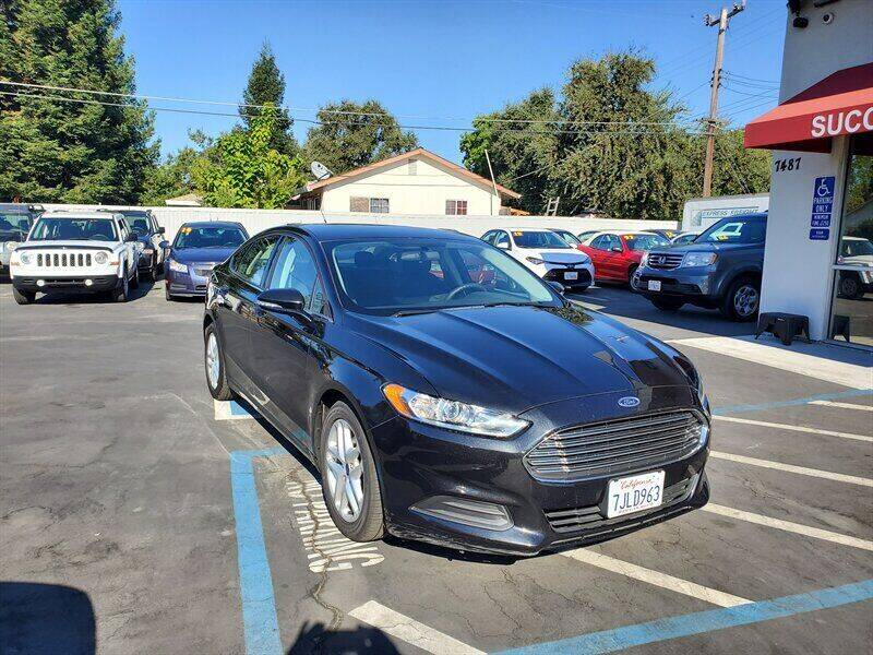 2015 Ford Fusion for sale at Success Auto Sales & Service in Citrus Heights CA