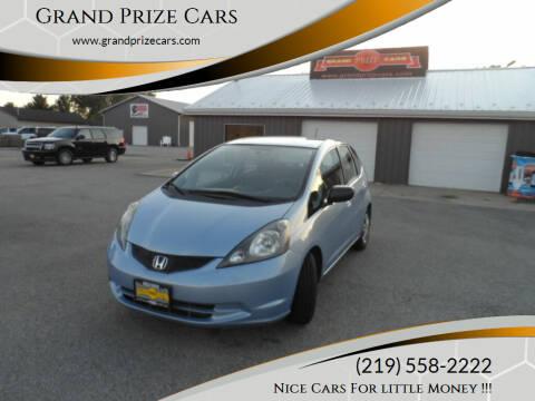 2010 Honda Fit for sale at Grand Prize Cars in Cedar Lake IN