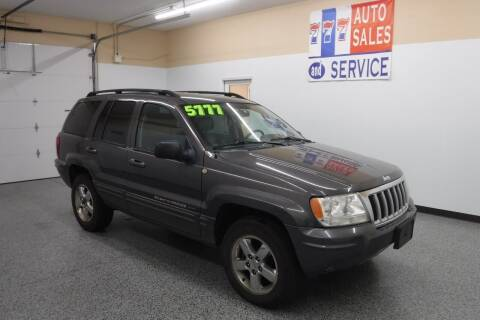 2004 Jeep Grand Cherokee for sale at 777 Auto Sales and Service in Tacoma WA
