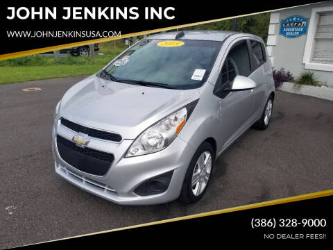 2015 Chevrolet Spark for sale at JOHN JENKINS INC in Palatka FL