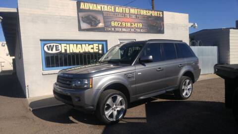 2010 Land Rover Range Rover Sport for sale at Advantage Auto Motorsports in Phoenix AZ