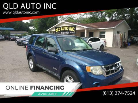 2008 Ford Escape for sale at QLD AUTO INC in Tampa FL