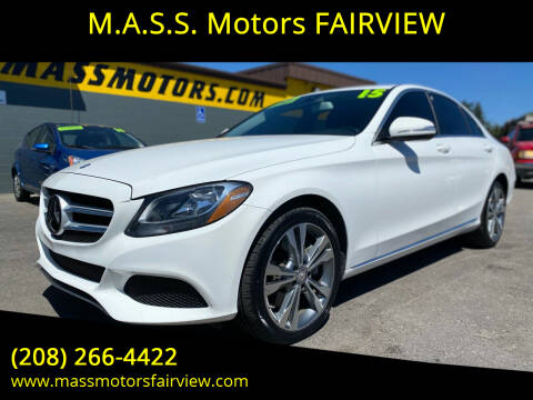 2015 Mercedes-Benz C-Class for sale at M.A.S.S. Motors - Fairview in Boise ID