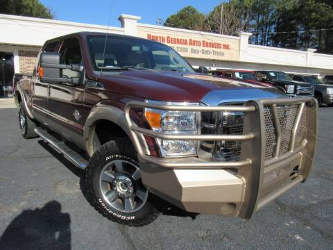 2011 Ford F-250 Super Duty for sale at North Georgia Auto Brokers in Snellville GA