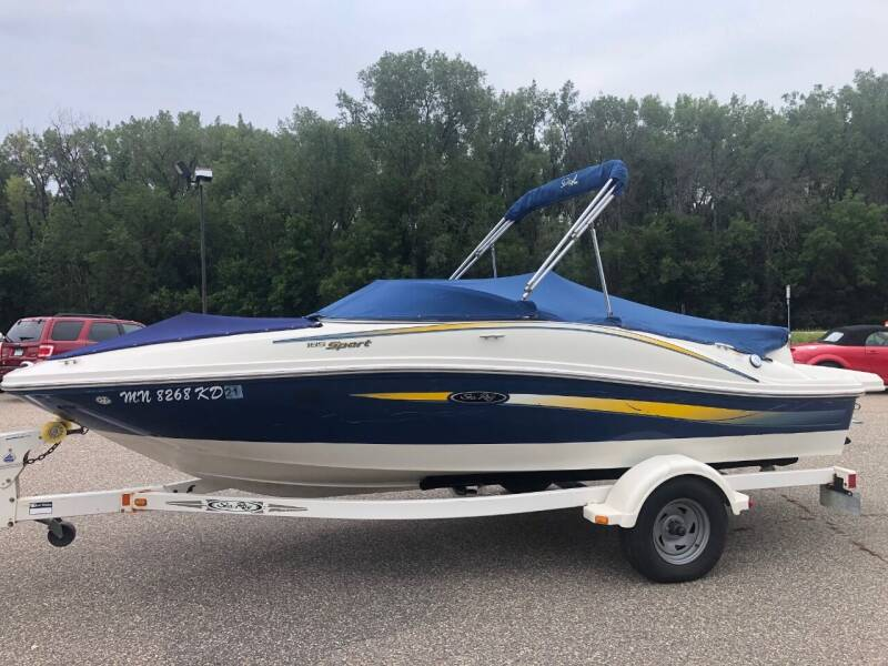2007 Sea Ray 185 Sport for sale at Triple R Sales in Lake City MN