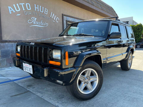 2000 Jeep Cherokee for sale at Auto Hub, Inc. in Anaheim CA