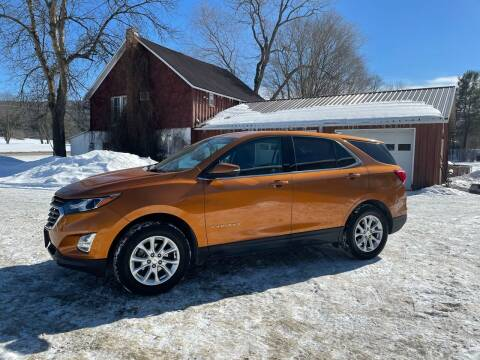 2018 Chevrolet Equinox for sale at Brush & Palette Auto in Candor NY