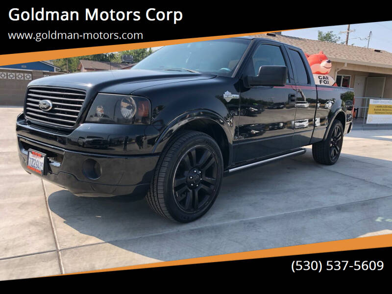2006 Ford F-150 for sale at Goldman Motors Corp in Stockton CA