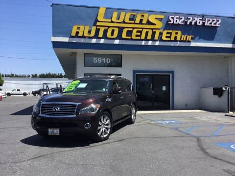 2011 Infiniti QX56 for sale at Lucas Auto Center in South Gate CA