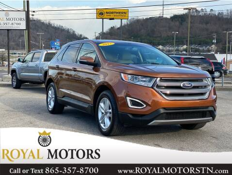 2017 Ford Edge for sale at ROYAL MOTORS LLC in Knoxville TN