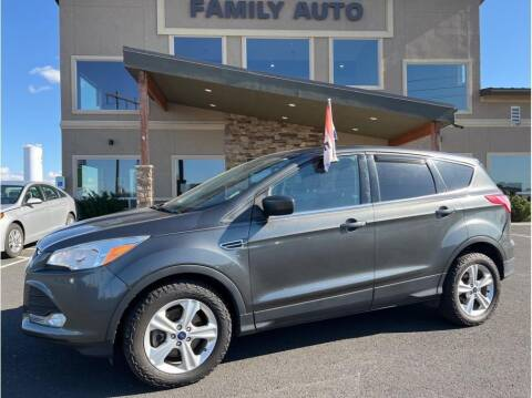 2016 Ford Escape for sale at Moses Lake Family Auto Center in Moses Lake WA