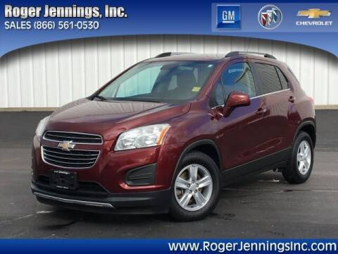 2016 Chevrolet Trax for sale at ROGER JENNINGS INC in Hillsboro IL