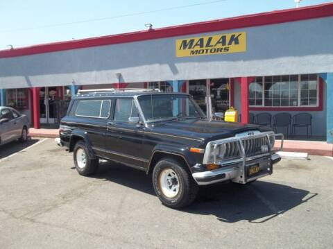 1982 Jeep Wagoneer for sale at Atayas Motors INC #1 in Sacramento CA