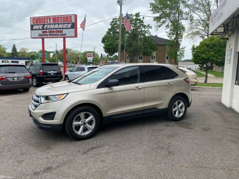 2017 Ford Edge for sale at Christy Motors in Crystal MN