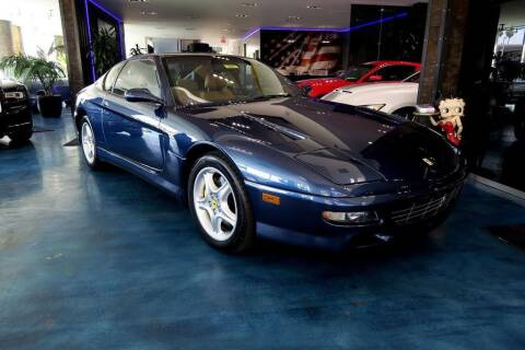 1997 Ferrari 456 for sale at OC Autosource in Costa Mesa CA