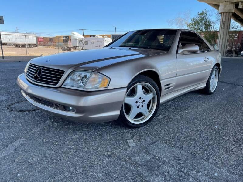 2002 Mercedes-Benz SL-Class for sale at MT Motor Group LLC in Phoenix AZ