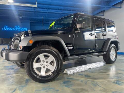 2013 Jeep Wrangler Unlimited for sale at Wes Financial Auto in Dearborn Heights MI