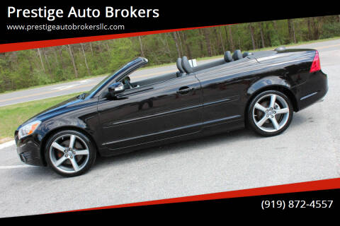 2012 Volvo C70 for sale at Prestige Auto Brokers in Raleigh NC