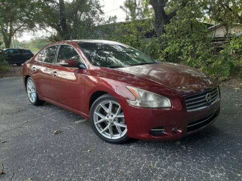 2009 Nissan Maxima for sale at Royal Auto Mart in Tampa FL